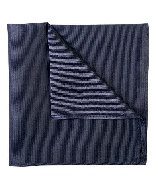 Pochet zijde streep antraciet