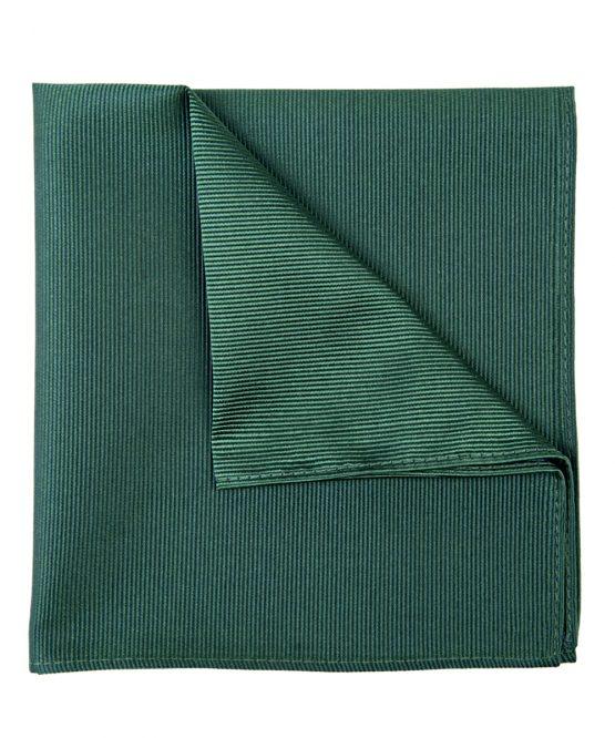 Pochet zijde streep groen