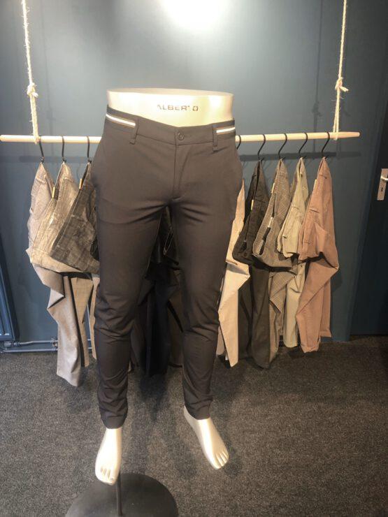 Chino stretch broek plint navy