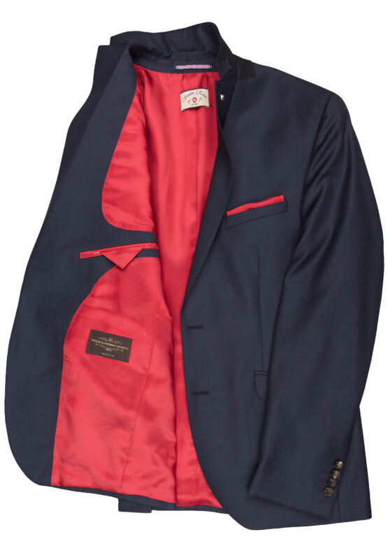 40-016N0-63 Savile Row jas detail