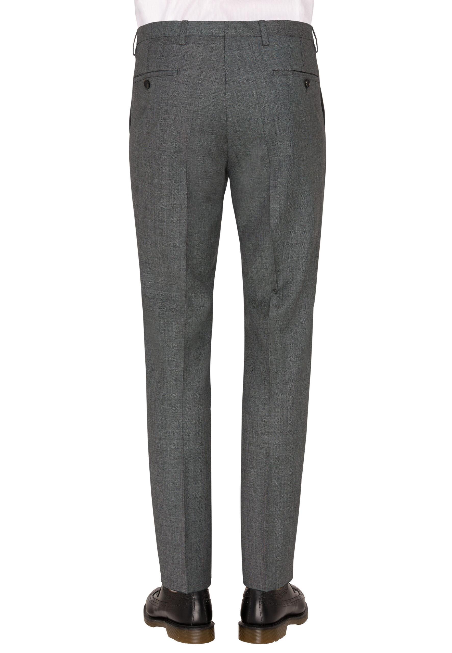Savile Row grijs broek achter