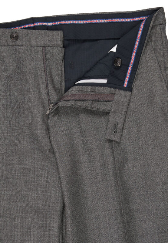 Savile Row grijs broek detail