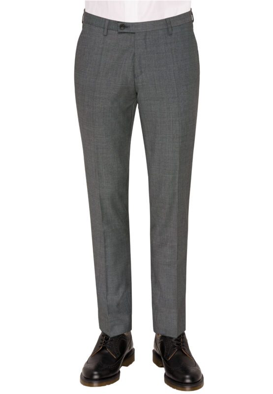 Savile Row grijs broek voor