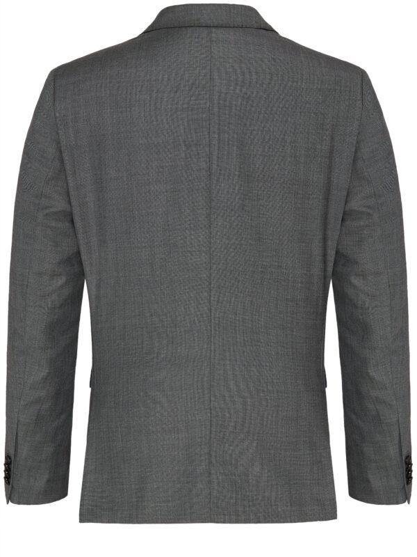 Savile Row grijs jas achter