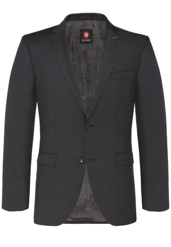 Tailored Fit Kostuum Grijs jas voor