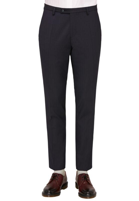 Kostuum Slim Fit Navy Uni broek voor